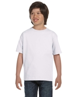 Image Hanes Youth 5.2 oz. ComfortSoft® Cotton T-Shirt