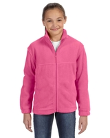 Image Harriton Youth 8oz., Full Zip Fleece