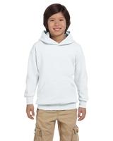 Image Hanes Youth 7.8 oz. EcoSmart® 50/50 Pullover Hood
