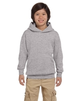 Image Hanes Youth 7.8 oz. Eco Smart 50/50 Pullover Hood