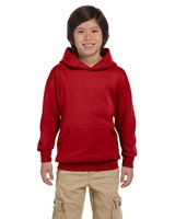 Image Hanes Youth 7.8oz., Eco-Smart 50/50 Pullover Hood