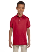 Image Jerzees Youth 5.6 oz., Spot Shield Jersey Polo