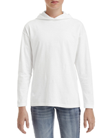 Image Anvil Youth Long-Sleeve Hooded T-Shirt