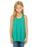 Image Bella + Canvas Youth Flowy Racerback Tank