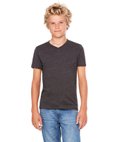 Image Bella + Canvas Youth Jersey Short-Sleeve V-Neck T/Shirt