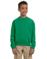 Image Jerzees Youth 8 oz., Nu-Blend Fleece Crew