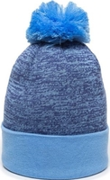 Image Outdoor Pixel Watch Hat With Pom Pom