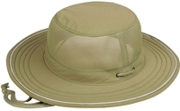 Image Mega Juniper Taslon UV Bucket Mesh Top with Foam Brim
