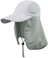 Image Mega Juniper Taslon Water Repellant UV Folding Bill Cap