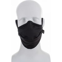 Image Reusable Moisture Wicking Anti Viral-Anti Bacterial Black Face Mask