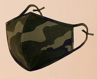 Image Washable Reusable 100% Cotton Camo (Pack of 10) $30.00=$3.00 each