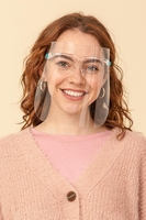 Image Protective Isolation Mask w/Glasses Washable Reusable (Pack of 10) $48.00=$4.80