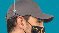 Image Outdoor Relaxed Cap w/Mask Holder