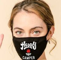 Image 3-Layer Happy Camper Face Washable Reusable (Pack of 10) $45.00=$4.50 each