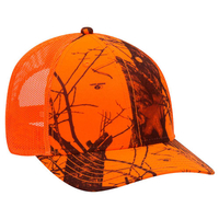 Image OTTO CAP Mossy Oak Camouflage Superior Polyester Twill Baseball Cap