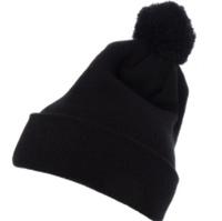 0a27e3af7c9 Yupoong-Pom Pom Beanie Cuffed Knit Hat