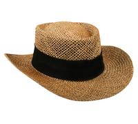 Image Outdoor Straw Gambler Hat w/Underbrim