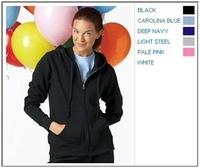 Image Hanes 8 oz 80/20 Ladies Fleece Full-Zip Hoodie