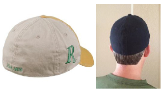 Panels are different pieces of fabric that make up the top of the cap.  There are usually five or six panels in a baseball cap. ae0ea8f1db3